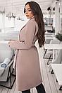 Классическое женское кашемировое пальто на подкладке, Итальянский кашемир,цвета, р.  42,44,46,48,50, фото 4