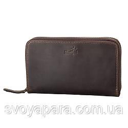 Мужской клатч SHVIGEL 11083 кожаный Коричневый