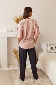 """Красива батальна піжама зі штанами """"Princess"""""""