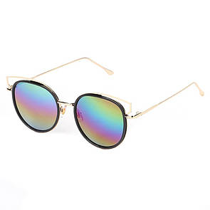 """Жіночі сонцезахисні окуляри райдужні """"Карен"""""""