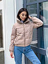 """Красивая модная теплая женская куртка """"Lizbeth"""", фото 7"""