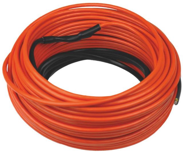 одножильный кабель теплого пола