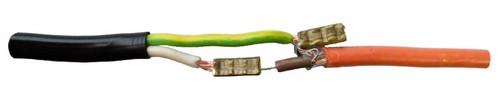 соединение кабеля теплого пола