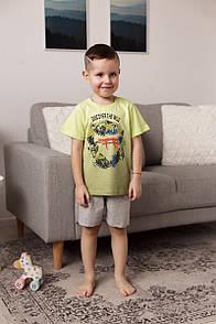 """Шикарний комплект з шортиками і футболкою для хлопчика c гепардом """"Gephart"""""""