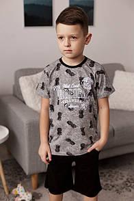 "Модний комплект з шортиками для хлопчика ""Tropical"""