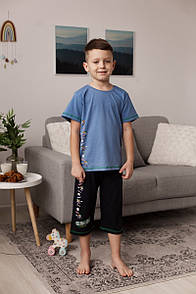 """Шикарний комплект для хлопчика підлітка з шортиками """"Bic"""""""