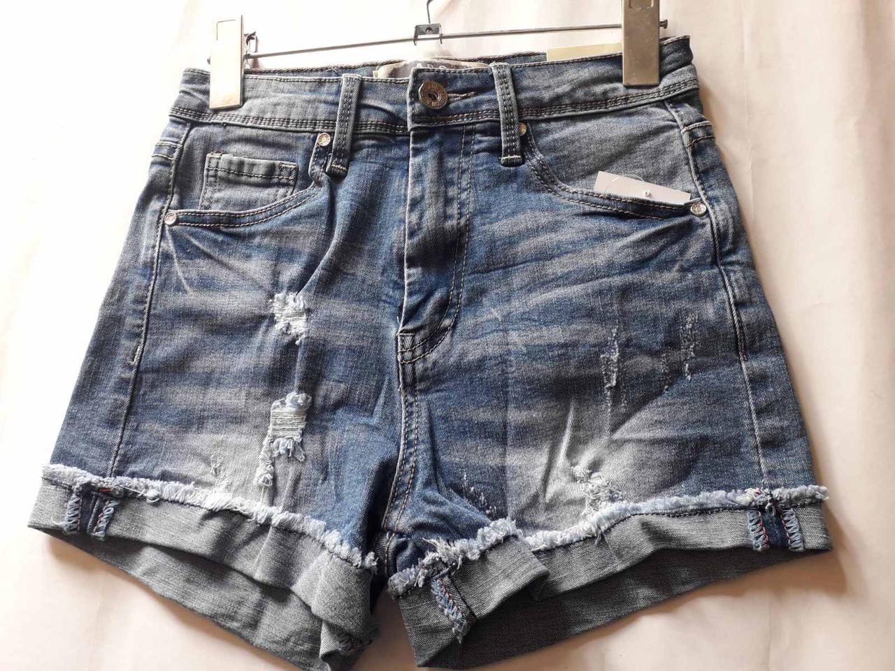"""Шорти джинсові жіночі з вилогами """"Мардж"""""""