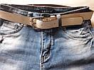 """Стильні жіночі джинсові бриджі з потертостями """"Марі"""", фото 2"""