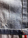 """Стильные женские джинсовые бриджи с поцарапками """"Мариам"""", фото 4"""