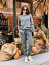 """Модный теплый вязаный женский костюм с брюками """"Джейн"""", фото 6"""