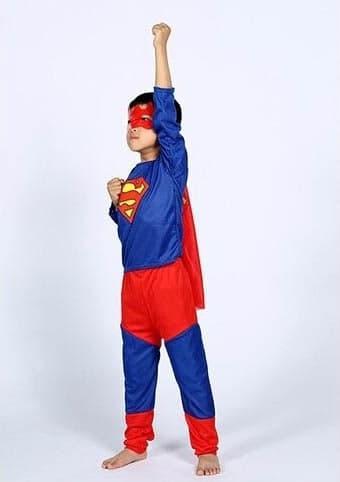"""Детский карнавальный костюм на мальчика """"Супермен"""""""