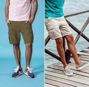 """Стильные мужские шорты с карманами карго """"Орхус"""""""