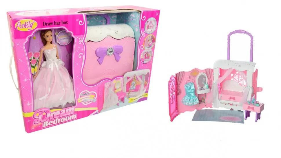 """Потрясающий игровой набор с куклой """"Домик"""""""
