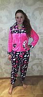 Зайка,теплая пижама,фланель