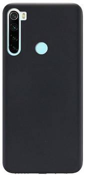 Силикон Original Silicone Case Xiaomi Redmi Note 8 HQ (черный) Силикон Original Silicone Case Xiaomi Redmi