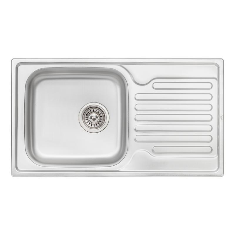 Кухонная мойка Qtap 7843 Micro Decor 0,8 мм (QT7843MICDEC08)