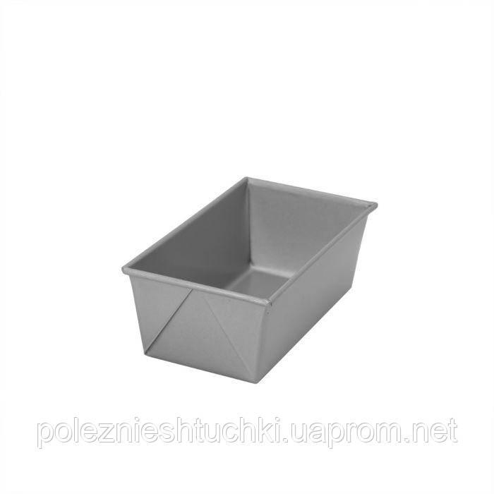 Форма для выпечки кекса/хлеба с антипригарным покрытием, алюминизированная сталь 15х8х6 см Winco