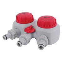 Таймер для подачі води з 2-х канальним розподілом INTERTOOL GE-2012
