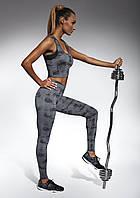 Женские спортивные леггинсы Bas Bleu Intense размер M Графитовый bb0029, КОД: 951400