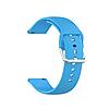 Силиконовый ремешок для часов с пряжкой из нержавеющей стали на Samsung Galaxy Watch 3 45mm 22 мм, фото 4