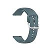 Силиконовый ремешок для часов с пряжкой из нержавеющей стали на Samsung Galaxy Watch 3 45mm 22 мм, фото 5
