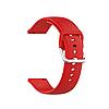 Силиконовый ремешок для часов с пряжкой из нержавеющей стали на Samsung Galaxy Watch 3 45mm 22 мм, фото 6