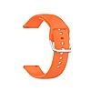 Силиконовый ремешок для часов с пряжкой из нержавеющей стали на Samsung Galaxy Watch 3 45mm 22 мм, фото 8