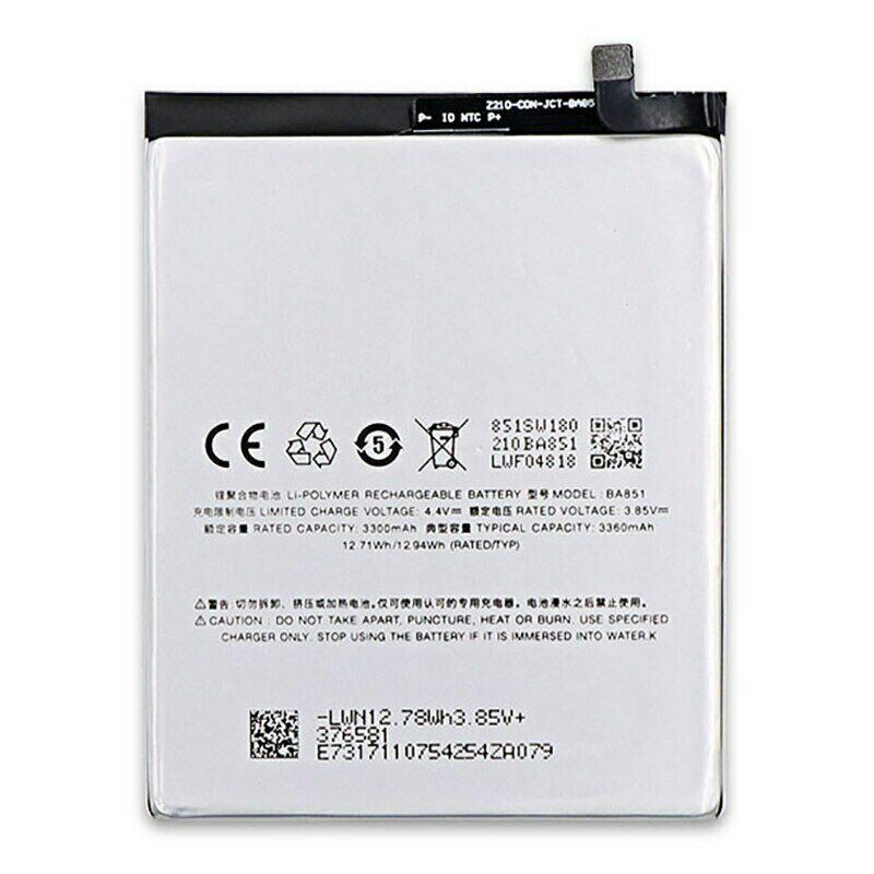 Аккумулятор акб ориг. к-во Meizu BA851 E3, 3360mAh