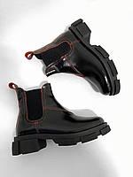 """Женские ботинки""""Черные"""", фото 1"""