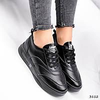 Кроссовки женские Vika черные 3112, фото 1