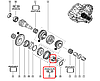 Подшипник КПП на Renault Trafic  2001-> 25x52x16.25 —  Renault (Оригинал) - 322756344R, фото 6
