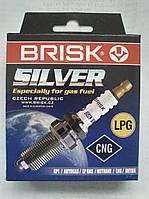 Свечи зажигания Brisk Silver LR15YS для автомобилей на газу