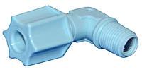 """Колено с клапаном Aquafilter 4042-CV-O, 1/8""""РН х 1/4"""" под шланг"""