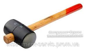 Киянка резиновая 680 г, деревянная ручка (Sparta, 111555)