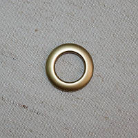 Люверсы малые антик темный 25 мм