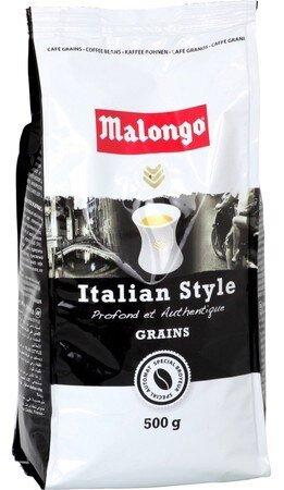 Кофе в зернах Malongo Italian style 500 г