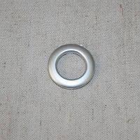Люверсы малые серебро матовое 25 мм