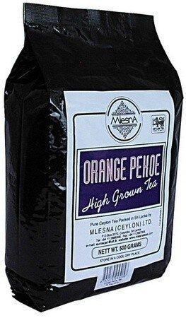 Чорний чай Оранж Пеко Млесна пак. з фольги 500 г