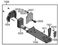 1H328418 Крышка двигателя дозатора порошка (560.0002.991)