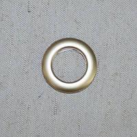 Люверсы малые золото матовое 25 мм