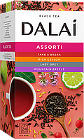 Чай DALAI Ассорти из 4 вкусов 24шт