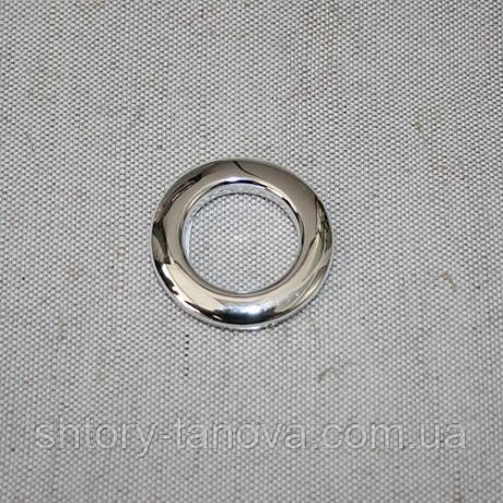 Люверсы гальваника эконом серебро хром 25 мм
