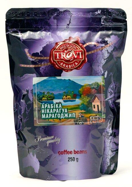 Кава в зернах Trevi Арабіка Нікарагуа Марагоджип 250 г