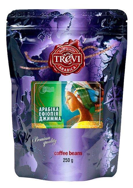 Кофе в зёрнах Trevi Арабика Эфиопия Джимма 250 г