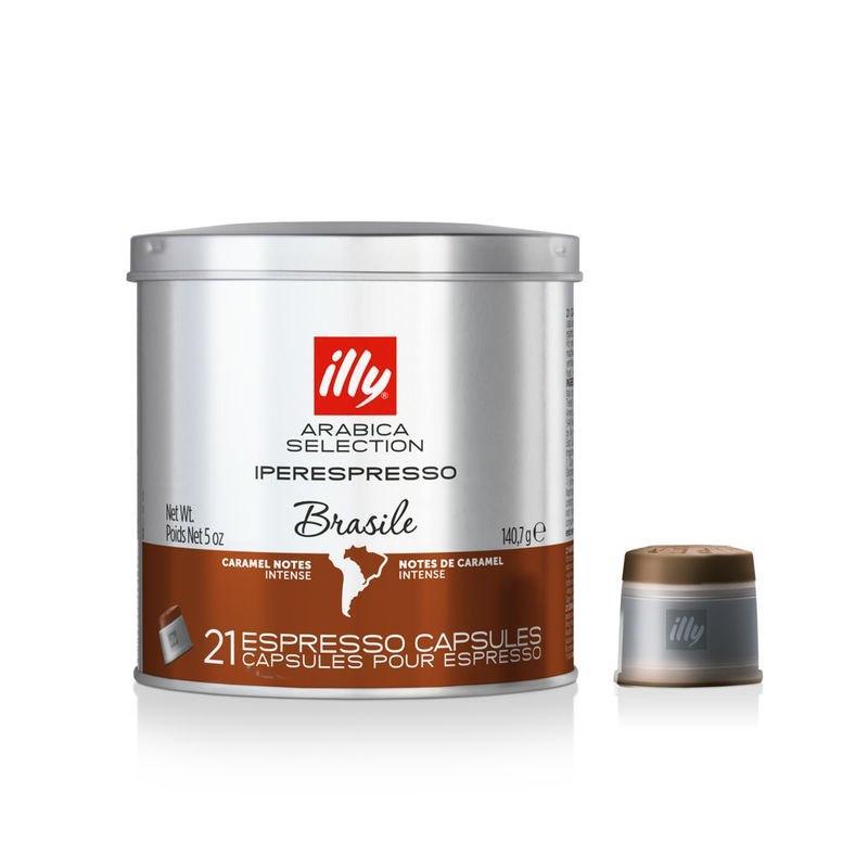 Кава в капсулах ILLY iperEspresso BRAZIL MONOARABICA ж/б 21 шт