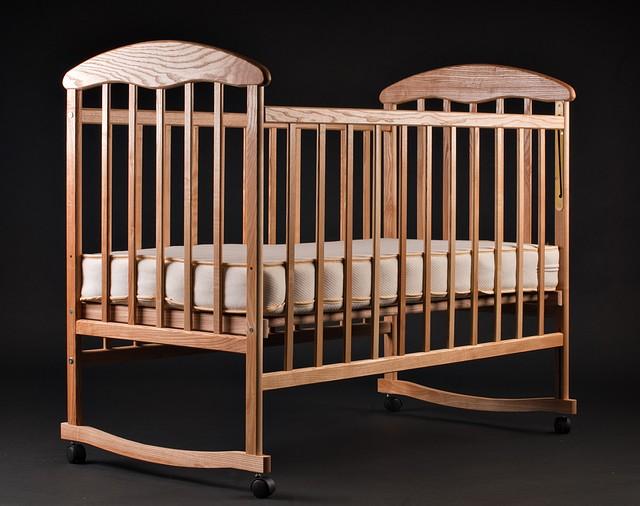 """Дитяче ліжечко """"Наталка""""  світле"""