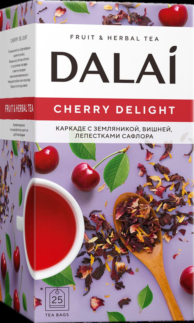 Чай DALAI Фруктовий CHERRY DELIGHT 25шт
