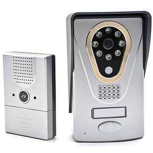 IP WiFi відеодомофон c записом та управлінням зі смартфона KIVOS KDB400