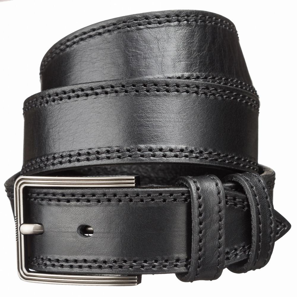 Ремень кожаный MAYBIK 15254 Черный