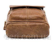Сумка через плечо мужская Vintage 14899 Серо-коричневая, Коричневый, фото 2